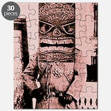 Tiki Mask man Puzzle