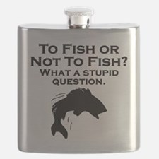 To Fish Or Not To Fish Flask