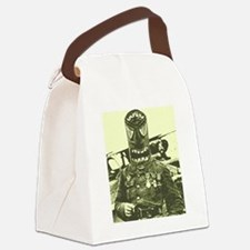 tikimask man 2 Canvas Lunch Bag