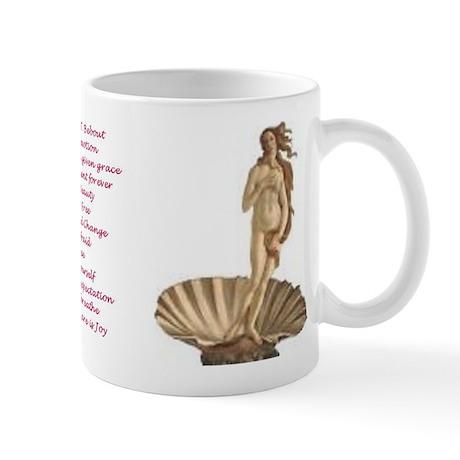 Venus Poetry Mug