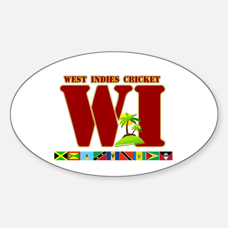 West Indies Cricket Oval Decal