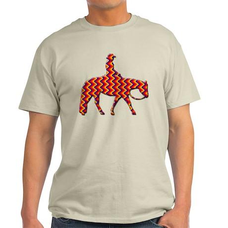 Western pleasure zig zag Light T-Shirt