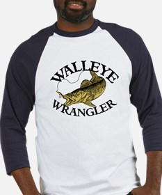 Walleye Wrangler Baseball Jersey