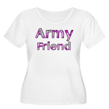 Army Friend Pink Camo T-Shirt