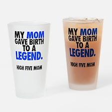 Baby Legend - Blue Drinking Glass