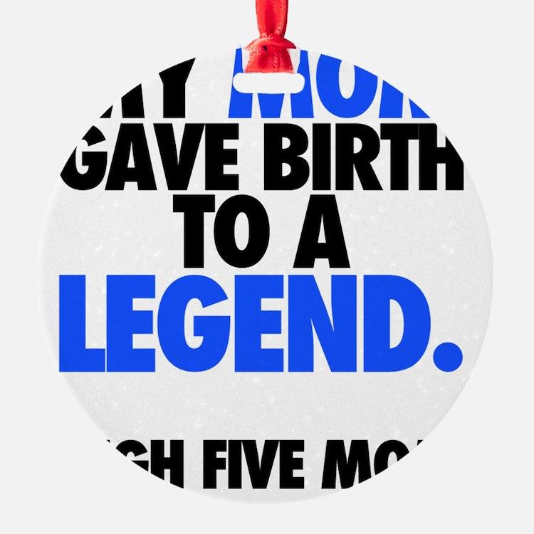 Baby Legend - Blue Ornament