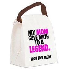 Baby Legend - Pink Canvas Lunch Bag