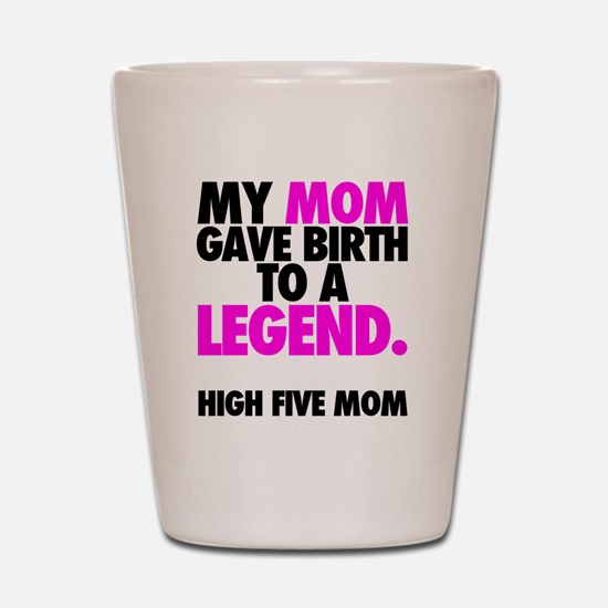 Baby Legend - Pink Shot Glass
