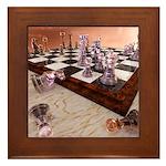 A Game of Chess Framed Tile