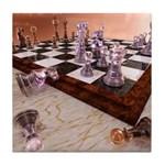 A Game of Chess Tile Coaster