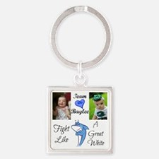 Team Baylee Square Keychain