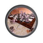 A Game of Chess Wall Clock