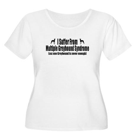 Greyhound Women's Plus Size Scoop Neck T-Shirt