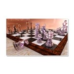 A Game of Chess Car Magnet 20 x 12