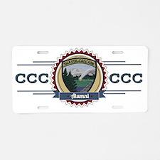 Shasta Cascade Alumni Aluminum License Plate
