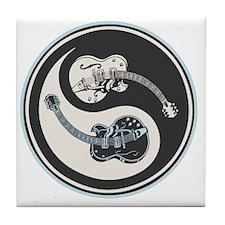 elec-guit-yang-T Tile Coaster