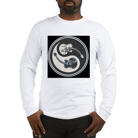 elec-guit-yang-PLLO Long Sleeve T-Shirt