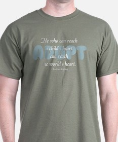 Foster Care and Adoption T-Shirt