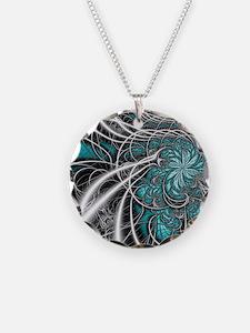 Blue - framedpanelprint Necklace