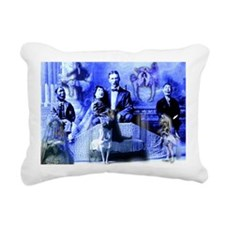 Insomnia Collage Rectangular Canvas Pillow