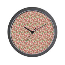 Peppermint Party Wall Clock