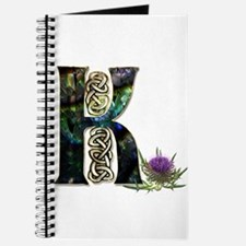 K Initial Celtic Thistle Journal
