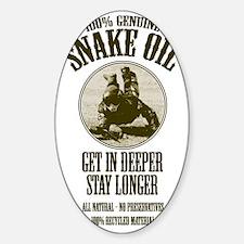 Snake Oil Decal