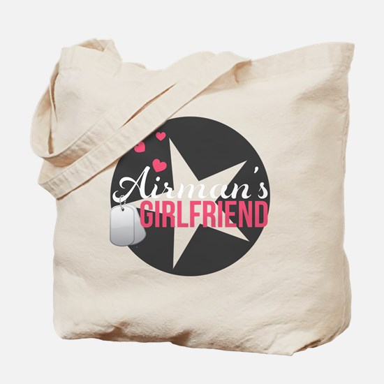 Airmans Girlfriend Tote Bag