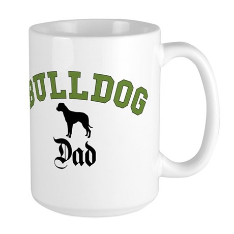 Am Bulldog Dad 3 Mugs