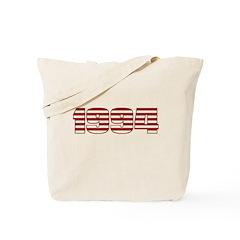 Stripes Logo, 1994 Tote Bag