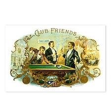 Vintage Cigar Label Art C Postcards (Package of 8)