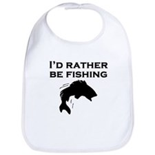 Id Rather Be Fishing Bib