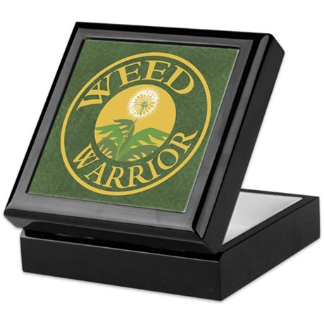 Weed Warrior Keepsake Box