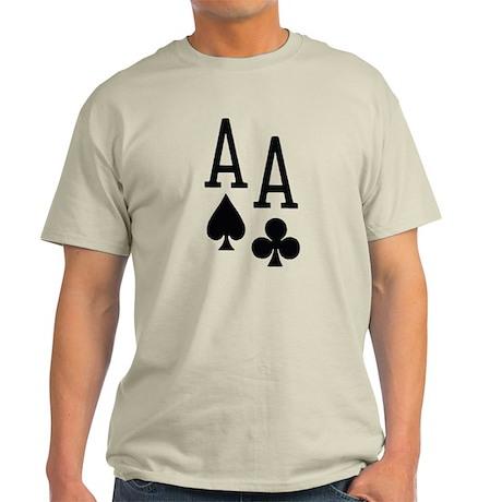 Pocket Aces Poker Light T-Shirt