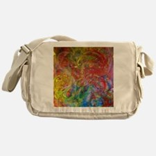 Swirls Messenger Bag