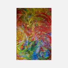 Swirls Rectangle Magnet