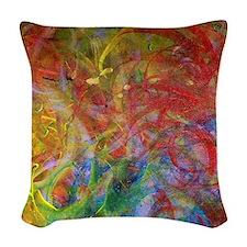 Swirls Woven Throw Pillow