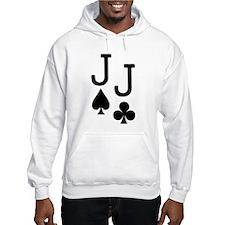 Pocket Jacks Poker Hoodie