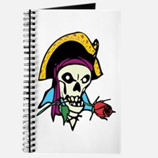 Pirate With Rose Journal