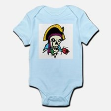 Pirate With Rose Infant Bodysuit