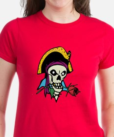 Pirate With Rose Tee