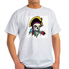 Pirate With Rose T-Shirt
