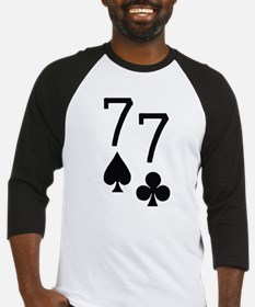 Pocket Sevens Poker Baseball Jersey