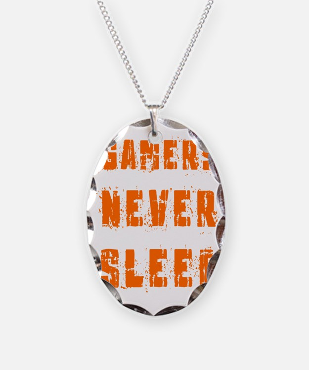 gamers never sleep Necklace