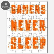gamers never sleep Puzzle