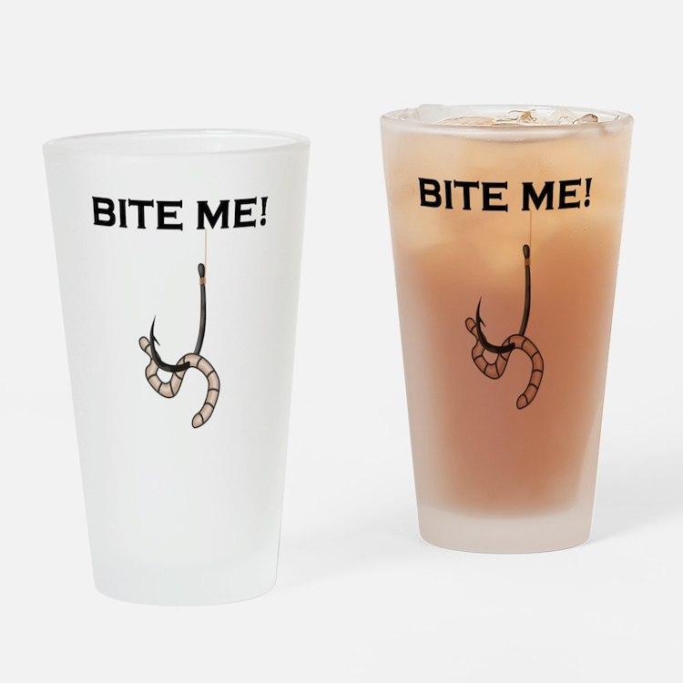 Bite Me! Drinking Glass
