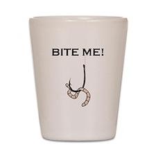 Bite Me! Shot Glass