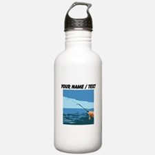 Custom Fishing Water Bottle