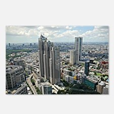 Tokyo Cityscape Postcards (Package of 8)