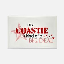 My coastie is kind of a BIG D Rectangle Magnet
